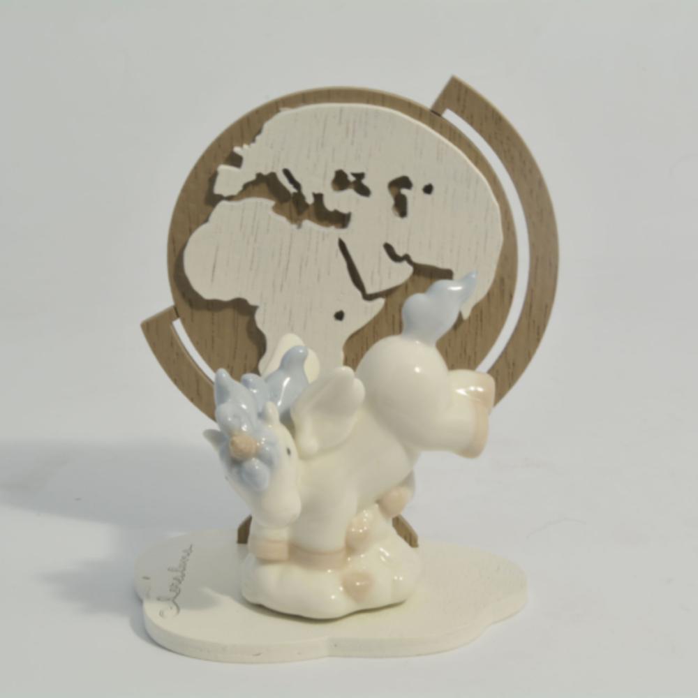 unicorno mappamondo