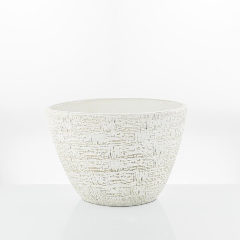 vaso ovale tindal white