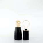 lampada minimal gold black