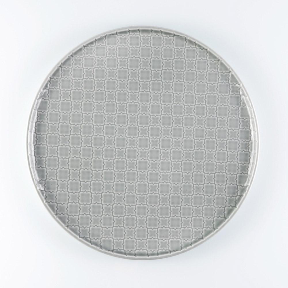 piatto piano tile grey