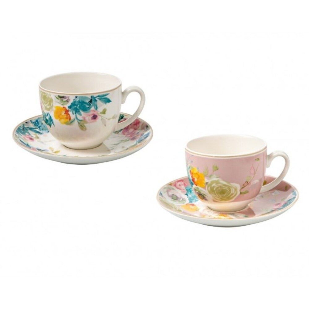 set 2 tazze tè