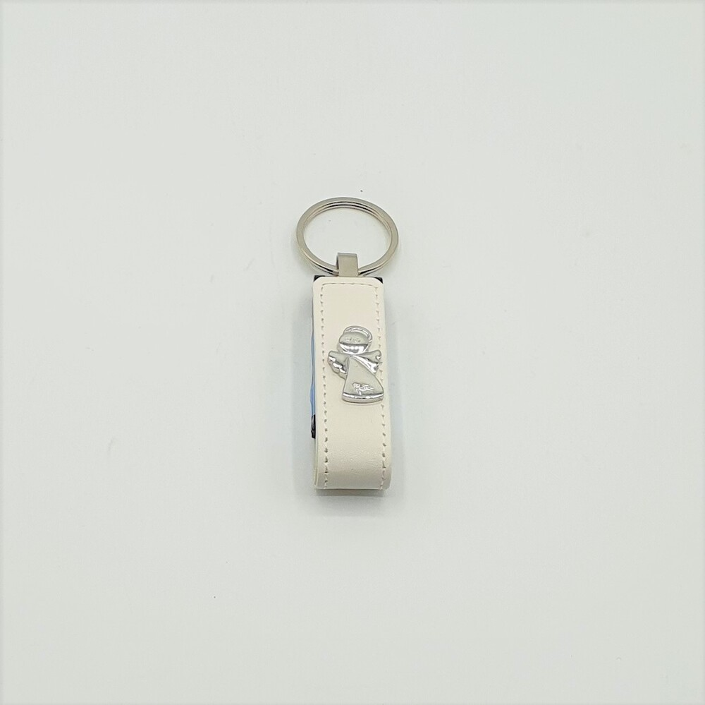 Portachiavi USB bianco